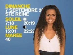 Laurence Roustandjee, nouvelle Miss Météo sur M6