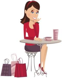 shopping_girl_at_table