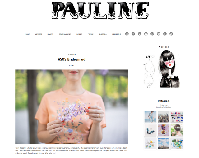 pauline fashion blog