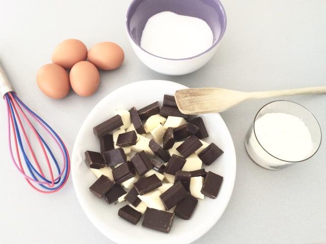 gateau au chocolat ingredients